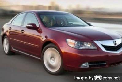 Insurance rates Acura RL in Minneapolis
