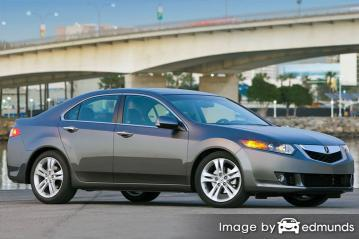 Insurance quote for Acura TSX in Minneapolis
