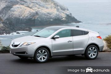 Insurance quote for Acura ZDX in Minneapolis