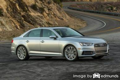 Insurance quote for Audi A4 in Minneapolis