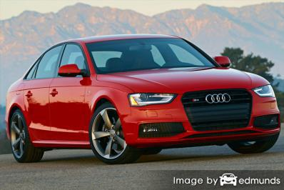 Insurance quote for Audi S4 in Minneapolis