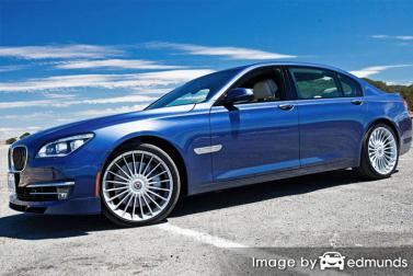 Insurance rates BMW Alpina B7 in Minneapolis