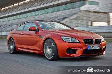Insurance quote for BMW M6 in Minneapolis