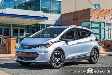Insurance rates Chevy Bolt EV in Minneapolis