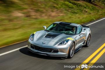 Insurance quote for Chevy Corvette in Minneapolis