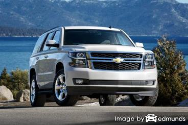 Insurance rates Chevy Tahoe in Minneapolis