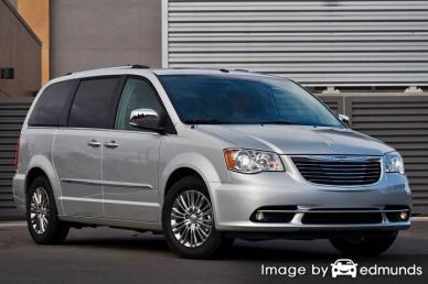 Insurance rates Chrysler Town and Country in Minneapolis