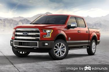 Insurance quote for Ford F-150 in Minneapolis