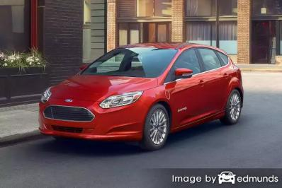 Insurance quote for Ford Focus in Minneapolis