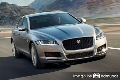 Insurance rates Jaguar XF in Minneapolis