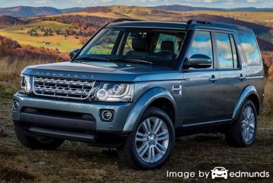 Insurance rates Land Rover LR4 in Minneapolis