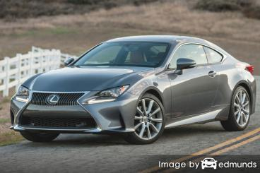Insurance quote for Lexus RC 300 in Minneapolis