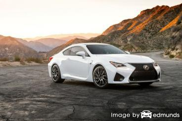 Insurance for Lexus RC F