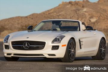 Insurance quote for Mercedes-Benz SLS AMG in Minneapolis