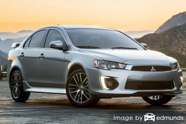 Discount Mitsubishi Lancer insurance