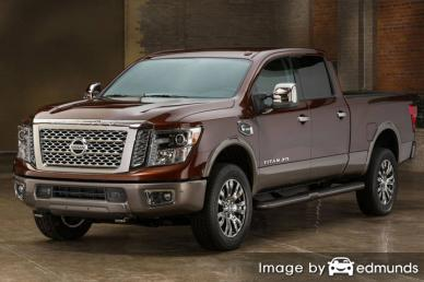 Insurance quote for Nissan Titan in Minneapolis