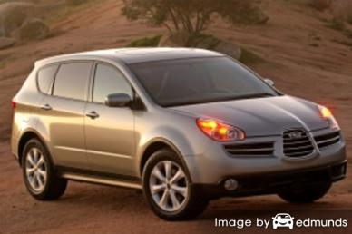 Insurance rates Subaru B9 Tribeca in Minneapolis