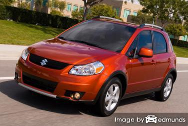 Insurance rates Suzuki SX4 in Minneapolis