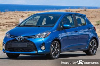 Insurance quote for Toyota Yaris in Minneapolis